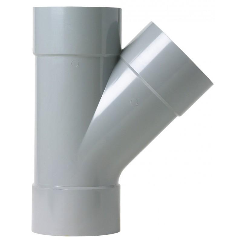 Culotte à 45° Femelle / Femelle Girpi - Diamètre 125 mm