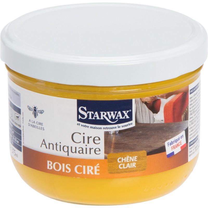 Cire antiquaire Starwax - Chêne clair - 375 ml