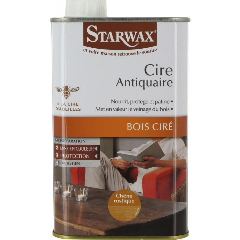 Cire antiquaire Starwax - Chêne rustique - 500 ml