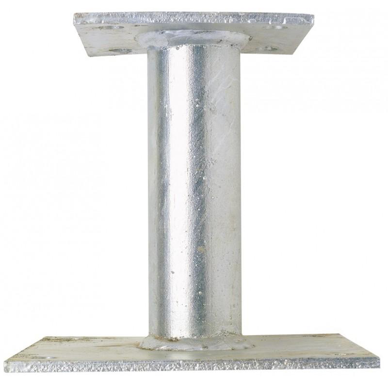 support de poteau in gal alberts hauteur 100 mm de ancre. Black Bedroom Furniture Sets. Home Design Ideas