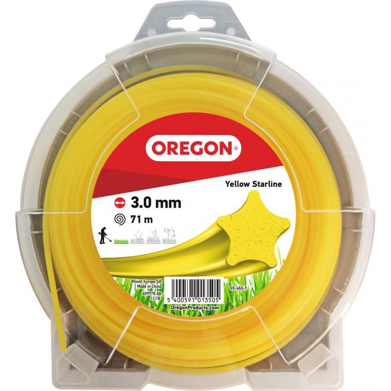 Fil étoile à bords tranchant Oregon - Longueur 71 m - Diamètre 3 mm