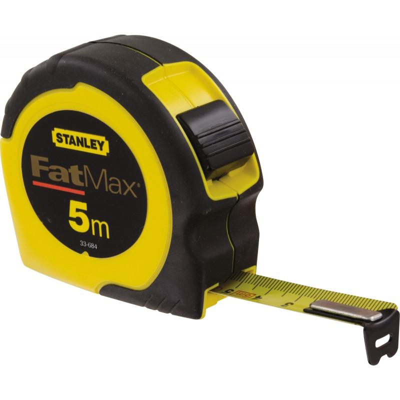 Mesure Fatmax Stanley - Longueur 5 m - Largeur 19 mm