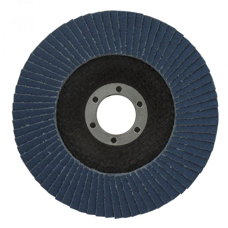 Disque à lamelles zirconium standard SCID - Grain 40 - Diamètre 115 mm - Vendu par 1