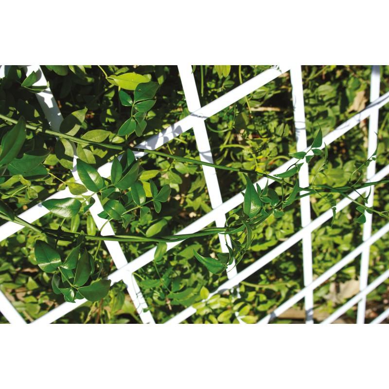 Treillis PVC extensible Catral - Blanc - Longueur 2 m - Hauteur 1 m