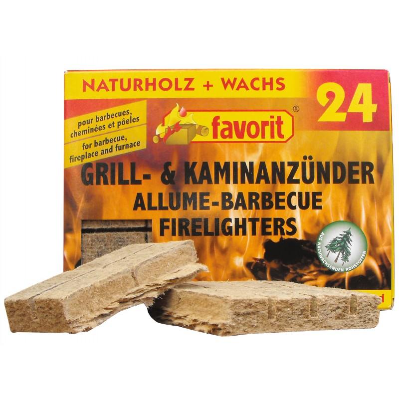Allume-feu naturel Favorit - Vendu par 24