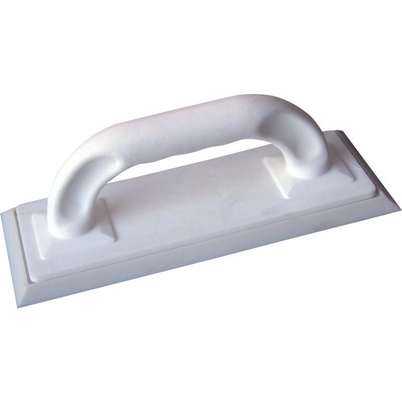 Taloche de carreleur à joint Outibat - Semelle blanche - Dimensions 250 x 100 mm