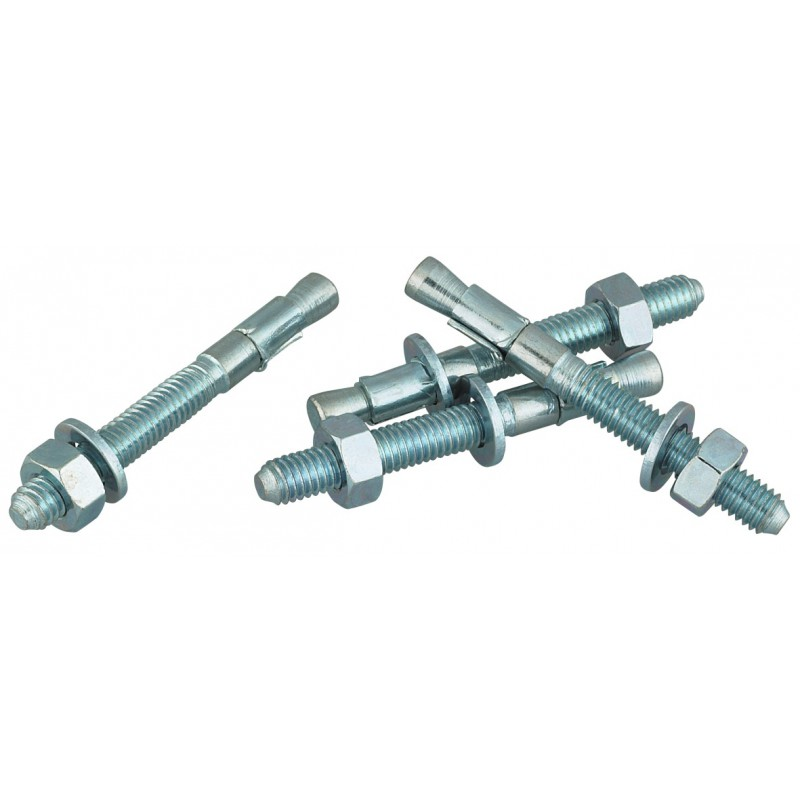 Goujon métallique traversant avec écrou et rondelle FBN Fischer - Longueur 91 mm - Diamètre 6 mm - Vendu par 4
