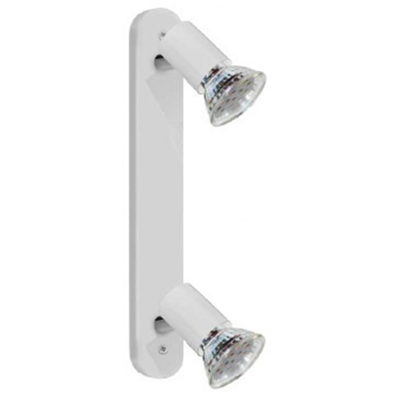 Spot Mini-LED Eglo - Réglette - 2 spots