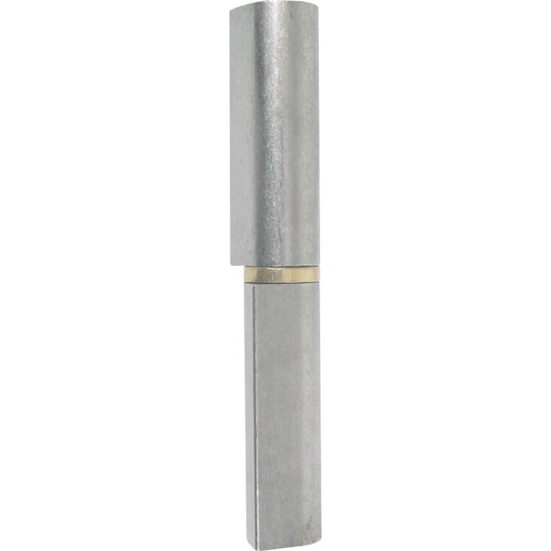 Paumelle Maroc® à souder Jardinier Massard - Longueur 120 mm - Diamètre Broche 9 mm