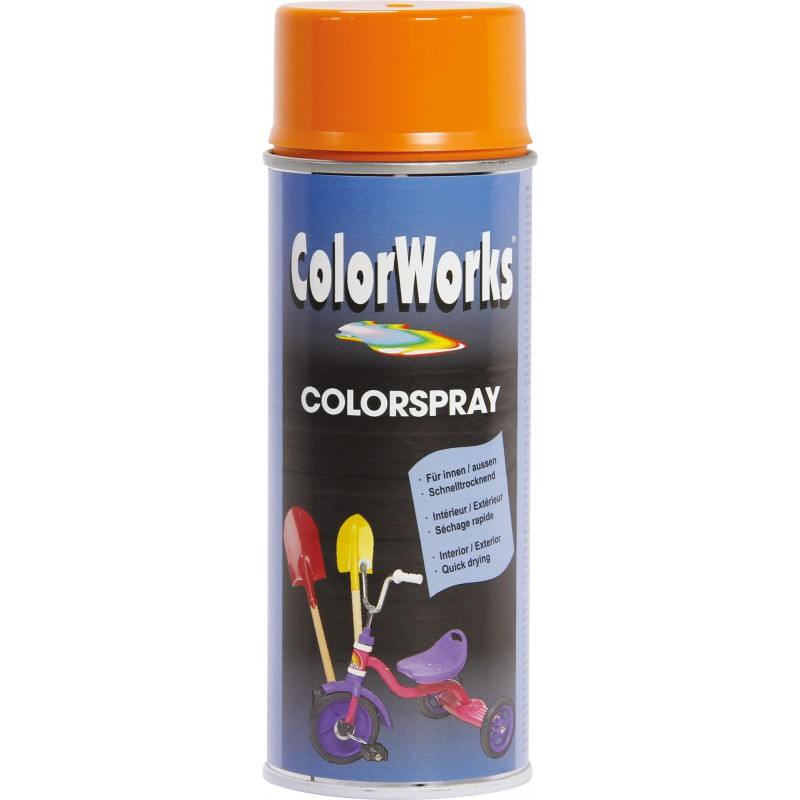 Peinture brillante Colorworks - Orange