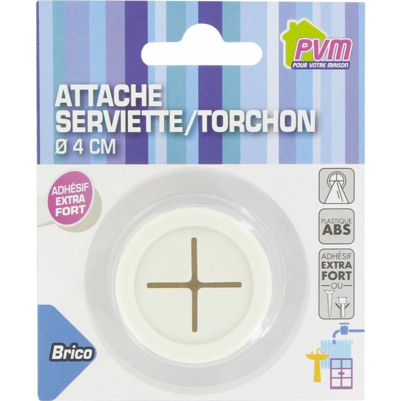 Attache serviette/torchon PVM - Vendu par 1