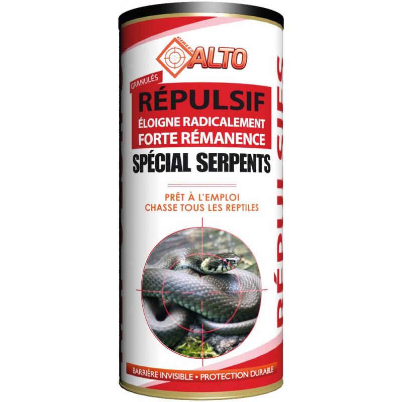 Répulsif granulés spécial serpents prêt à l'emploi Alto - Boîte 400 g