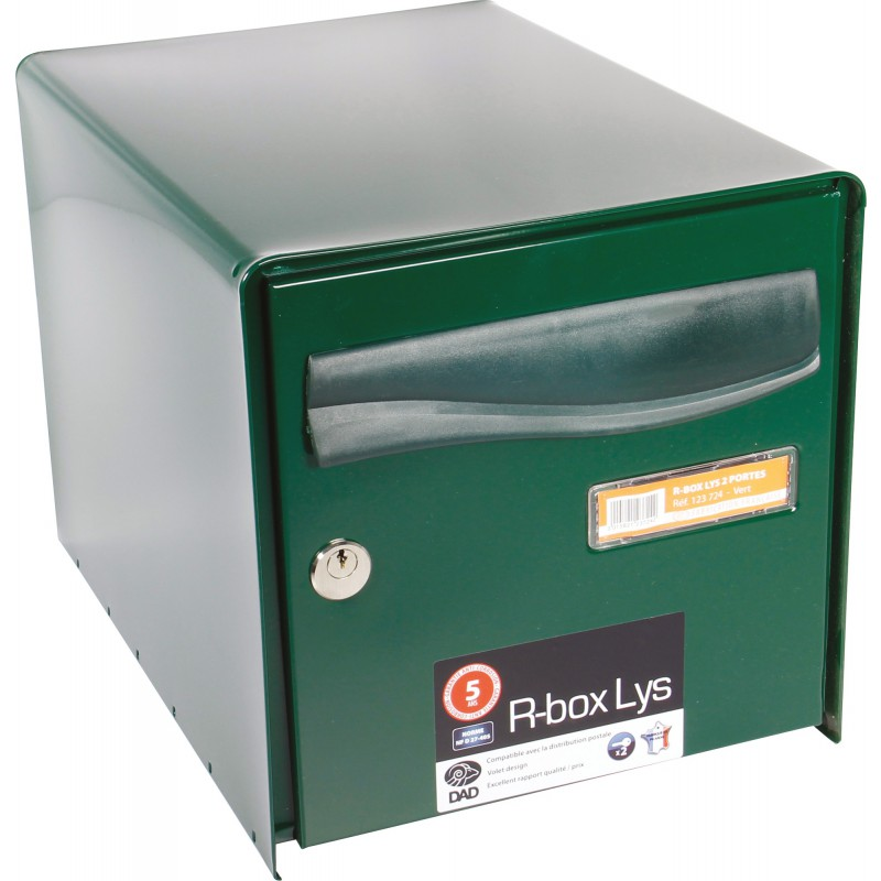 Super Boîte aux lettres à ouverture totale R-Box Lys Decayeux - Double HH-54