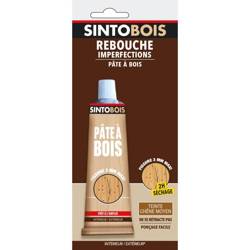 Sintobois rebouche imperfections Sinto - Chêne moyen - 80 g