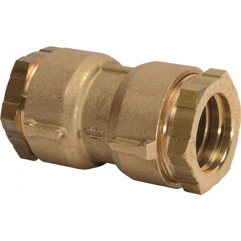 Raccord PE droit à serrage - Femelle - Ø 40 mm - Rexuo - Huot