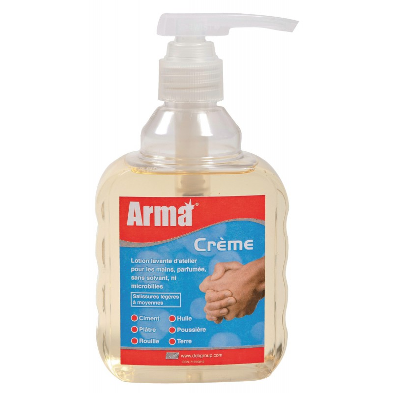Savon crème Arma - Flacon pompe 450 ml