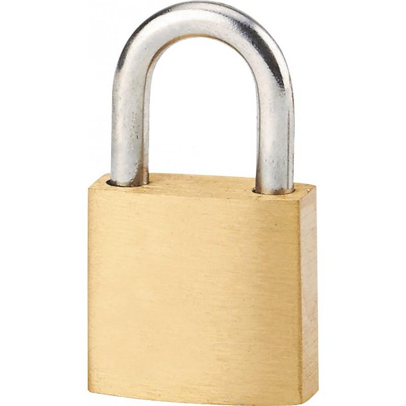 Cadenas laiton à clés - Exem - Largeur 25 mm