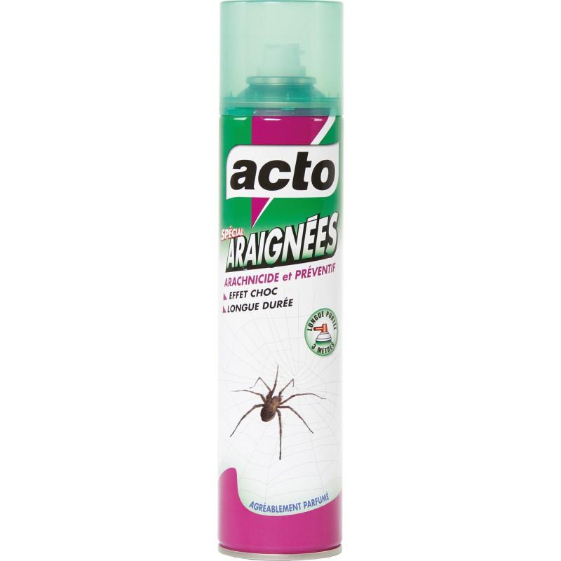 Insecticide araignées Acto - Aérosol 400 ml