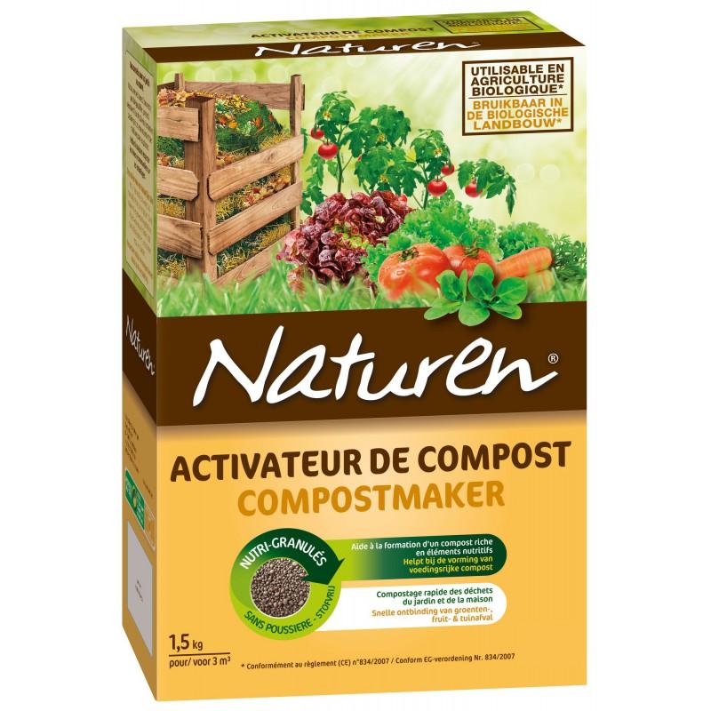 Activateur de compost Naturen - Boîte 1,5 kg