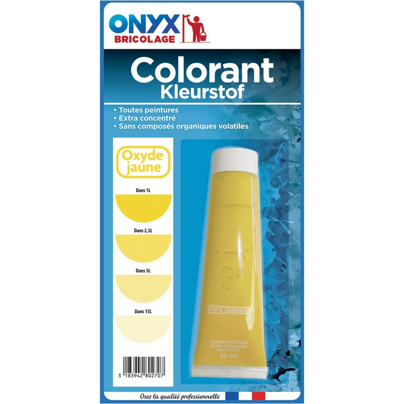 Colorant universel 60 ml Onyx - Oxyde jaune