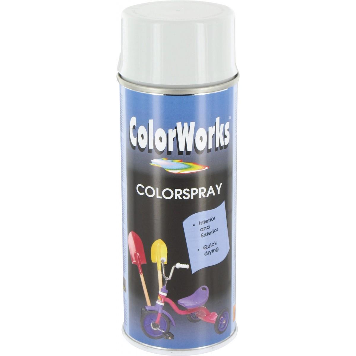 peinture brillante colorworks gris clair de peinture brillante a rosol. Black Bedroom Furniture Sets. Home Design Ideas