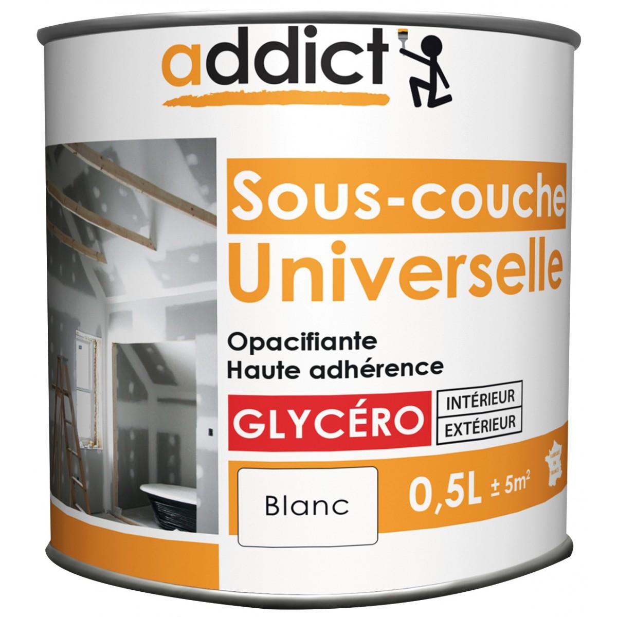 peinture sous couche universelle addict bo te 0 5 l blanc de peinture sous couche. Black Bedroom Furniture Sets. Home Design Ideas