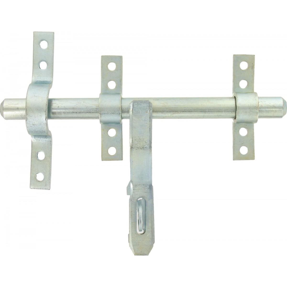 Verrou vervelle renforc zingu bourg avec pattes et porte cadenas diam tre 16 mm - Comment changer le code d un cadenas ...
