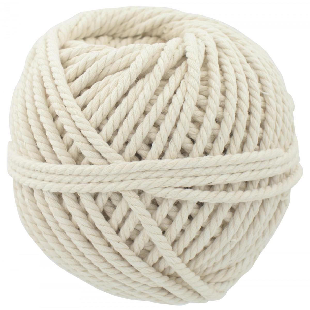 cordeau coton pvm longueur 30 m diam tre 2 5 mm de cordeau coton ma on. Black Bedroom Furniture Sets. Home Design Ideas