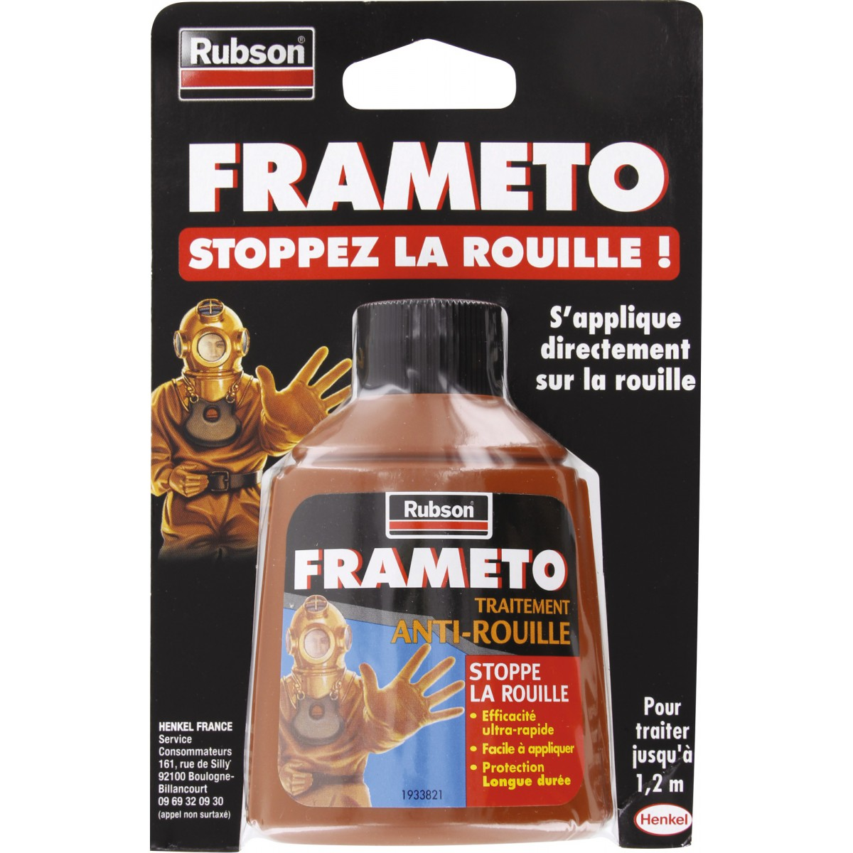 antirouille frameto 90 ml de antirouille frameto 1065207 mon magasin g n ral. Black Bedroom Furniture Sets. Home Design Ideas