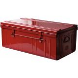 Cantine métal laquée - Longueur 800 mm - Rouge
