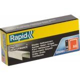 Agrafe n°53 Rapid Agraf - Hauteur 10 mm - 2500 agrafes