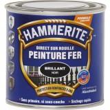 Peinture brillante Hammerite - Boîte 250 ml - Noir