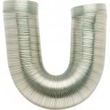 Gaine aluminium flexible extensible classe MO DMO - Longueur de 0,85 à 3 m - Diamètre intérieur 100 mm