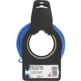 Fil H07 V-U 1,5 mm² Dhome - Longueur 25 m - Bleu