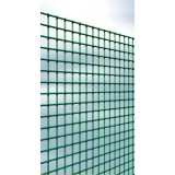Grillage maille carrée plastifié Cavatorta - Longueur 2,5 m - Hauteur 0,5 m - Maille 25 mm