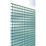 Grillage maille carrée plastifié Cavatorta - Longueur 5 m - Hauteur 1 m - Maille 25 mm