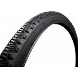 Pneu de vélo route 700 x 35C Durca - Diamètre 700 mm - largeur 35 mm - Noir