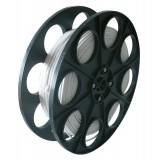 Câble H03 VVH 2-F mètré 0,75 mm² Dhome - 1/2 touret - Blanc - Longueur 250 m
