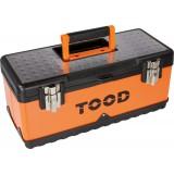 Boîte à outils métallique Tood - Longueur 510 mm