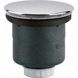 Bonde de douche à capot sortie verticale Valentin - Diamètre 90 mm