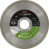 Disque diamanté grés cérame et carrelage SCID - Diamètre 115 mm