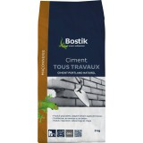 Ciment tous travaux Bostik - Gris - Sac 5 kg