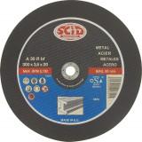 Disque abrasif à moyeu plat SCID - Métaux - Diamètre 355 mm - Alésage 25,4 mm