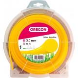 Fil rond pour débroussailleuse Oregon - Longueur 56 m - Diamètre 3 mm