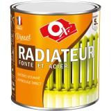 Peinture antirouille monocouche radiateur fonte et acier - Oxi - Blanc - 0,5 l
