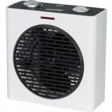 Radiateur soufflant Alsten cube avec ventilation froide Varma - 2000 W - Blanc et noir