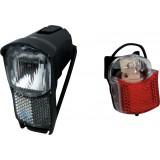 kit éclairage avant & arrière vélo Durca - LED