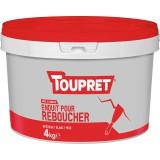 Enduit de rebouchage pâte Toupret - 4 kg