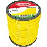 Fil carré pour débroussaillage nylon Oregon - Longueur 95 m - Diamètre 4 mm