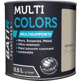 Peinture multi-supports satin soyeux Batir - Brun hiver - 0,5 l